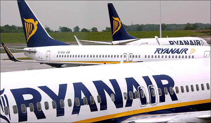 Ryan air Alicante